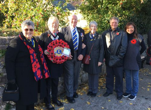 2018 Remembrance Day in Cheddar