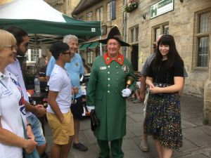 Meeting the Town Crier of Wells
