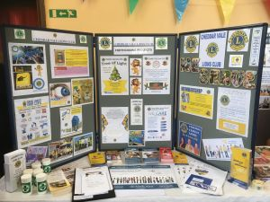 Our Display Boards at Healthfest 28.10.17
