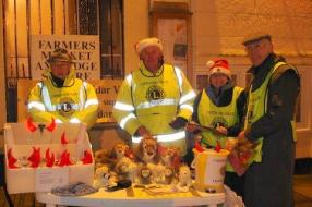 We even took Tombola to Axbridge and it was even colder there!!!