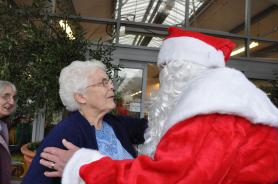 Father Christmas gives advice over Christmas presents
