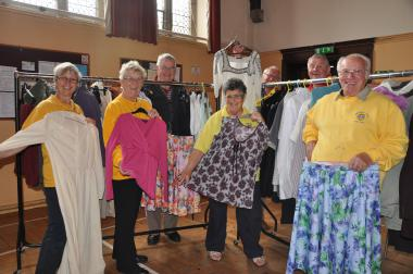 Time to find a new outfit for the autumn at our annual Jumble Sale