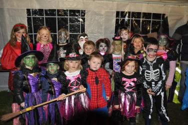 Fancy Dress participants