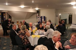 Guests Enjoying the Charter Dinner