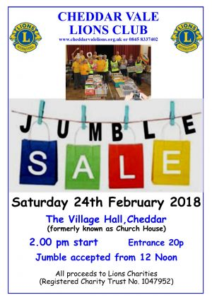 Jumble Sale2 - Feb 2018