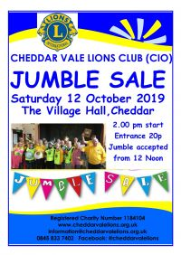Jumble Sale Poster 2019 Oct A