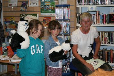 Local author Valerie Walsh joined us this time
